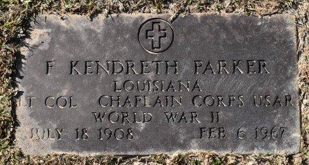 PARKER, F KENDRETH (VETERAN WWII) - Vernon County, Louisiana | F KENDRETH (VETERAN WWII) PARKER - Louisiana Gravestone Photos