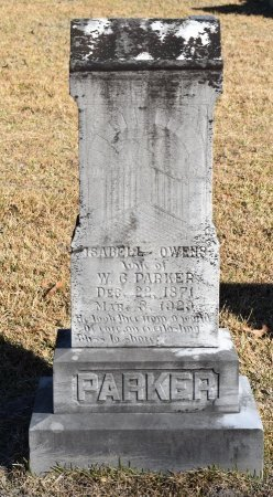 PARKER, ISABELL - Vernon County, Louisiana | ISABELL PARKER - Louisiana Gravestone Photos