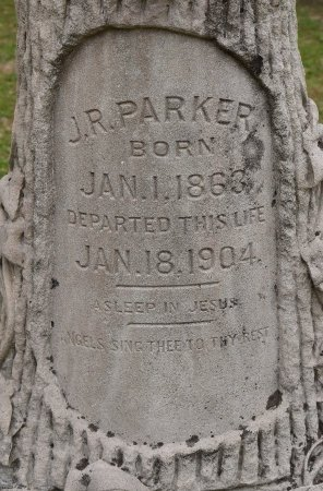 PARKER, J R (CLOSE UP) - Vernon County, Louisiana | J R (CLOSE UP) PARKER - Louisiana Gravestone Photos