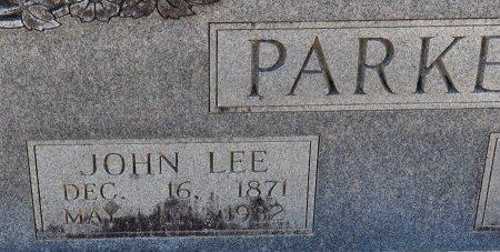 PARKER, JOHN LEE (CLOSE UP) - Vernon County, Louisiana | JOHN LEE (CLOSE UP) PARKER - Louisiana Gravestone Photos