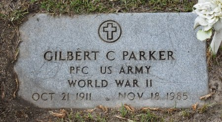 PARKER  , GILBERT C (VETERAN WWII) - Vernon County, Louisiana | GILBERT C (VETERAN WWII) PARKER   - Louisiana Gravestone Photos