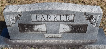 PARKER, ANNIE N - Vernon County, Louisiana   ANNIE N PARKER - Louisiana Gravestone Photos