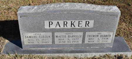 PARKER, MATTIE - Vernon County, Louisiana | MATTIE PARKER - Louisiana Gravestone Photos