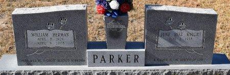 PARKER, WILLIAM HERMAN - Vernon County, Louisiana | WILLIAM HERMAN PARKER - Louisiana Gravestone Photos