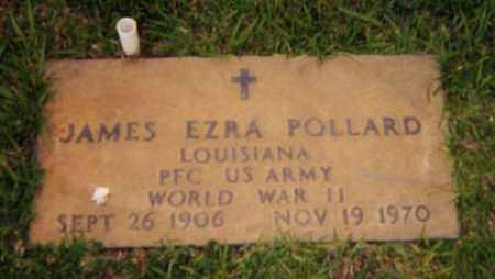 POLLARD, JAMES EZRA (VETERAN WWII) - Vernon County, Louisiana   JAMES EZRA (VETERAN WWII) POLLARD - Louisiana Gravestone Photos
