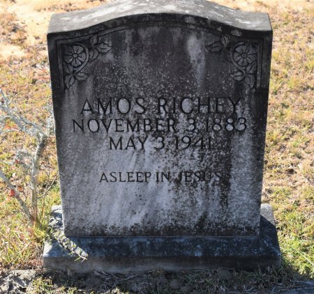 RICHEY, AMOS - Vernon County, Louisiana | AMOS RICHEY - Louisiana Gravestone Photos