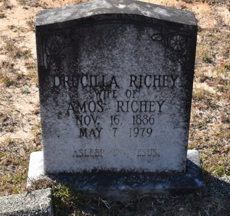 RICHEY, DRUCILLA - Vernon County, Louisiana | DRUCILLA RICHEY - Louisiana Gravestone Photos
