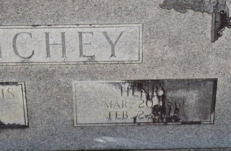 RICHEY, HENRY (CLOSE UP) - Vernon County, Louisiana | HENRY (CLOSE UP) RICHEY - Louisiana Gravestone Photos
