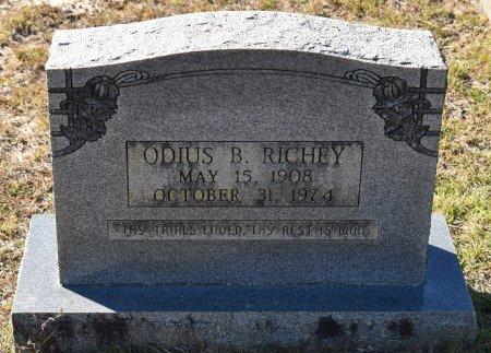 RICHEY, ODIUS B - Vernon County, Louisiana | ODIUS B RICHEY - Louisiana Gravestone Photos
