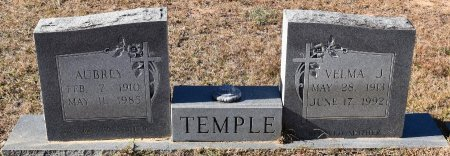 TEMPLE, AUBREY - Vernon County, Louisiana | AUBREY TEMPLE - Louisiana Gravestone Photos