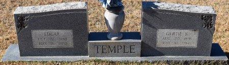 TEMPLE, EDGAR - Vernon County, Louisiana | EDGAR TEMPLE - Louisiana Gravestone Photos