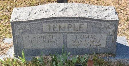 JACKSON TEMPLE, ELIZABETH - Vernon County, Louisiana | ELIZABETH JACKSON TEMPLE - Louisiana Gravestone Photos
