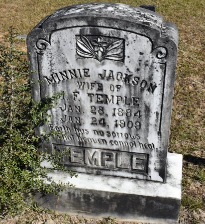 TEMPLE, MINNIE - Vernon County, Louisiana | MINNIE TEMPLE - Louisiana Gravestone Photos