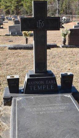 TEMPLE, WAYNON EARL - Vernon County, Louisiana | WAYNON EARL TEMPLE - Louisiana Gravestone Photos