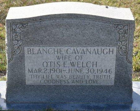 WELCH, BLANCHE (CLOSE UP) - Vernon County, Louisiana | BLANCHE (CLOSE UP) WELCH - Louisiana Gravestone Photos