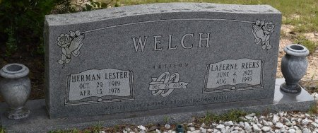 WELCH, LAFERNE REEKS - Vernon County, Louisiana | LAFERNE REEKS WELCH - Louisiana Gravestone Photos