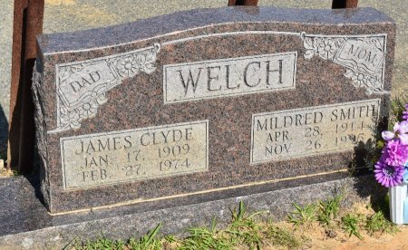WELCH, JAMES CLYDE - Vernon County, Louisiana | JAMES CLYDE WELCH - Louisiana Gravestone Photos
