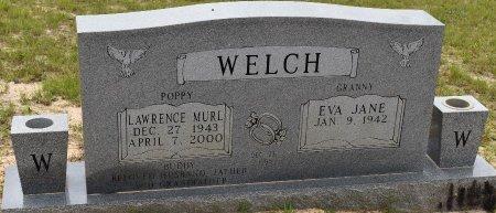 WELCH, LAWRENCE MURL - Vernon County, Louisiana   LAWRENCE MURL WELCH - Louisiana Gravestone Photos