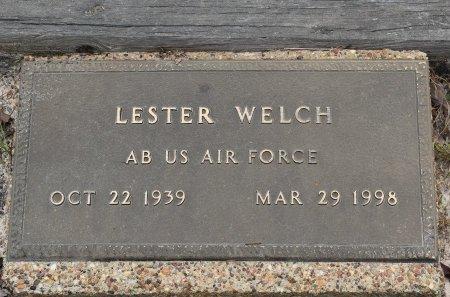 WELCH, LESTER (VETERAN) - Vernon County, Louisiana | LESTER (VETERAN) WELCH - Louisiana Gravestone Photos