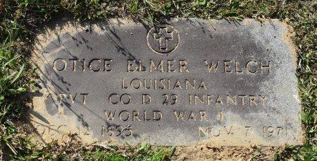 WELCH, OTIS ELMER (VETERAN WWI) - Vernon County, Louisiana | OTIS ELMER (VETERAN WWI) WELCH - Louisiana Gravestone Photos