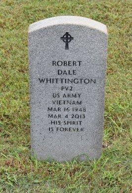 WHITTINGTON  , ROBERT DALE (VETERAN VIET) - Vernon County, Louisiana | ROBERT DALE (VETERAN VIET) WHITTINGTON   - Louisiana Gravestone Photos