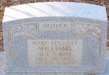 WILLIAMS, MARY AUGUSTA - Vernon County, Louisiana | MARY AUGUSTA WILLIAMS - Louisiana Gravestone Photos