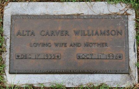 WILLIAMSON, ALTA - Vernon County, Louisiana | ALTA WILLIAMSON - Louisiana Gravestone Photos