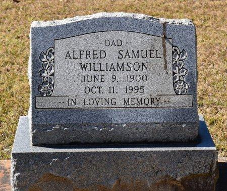 WILLIAMSON, ALFRED SAMUEL - Vernon County, Louisiana | ALFRED SAMUEL WILLIAMSON - Louisiana Gravestone Photos