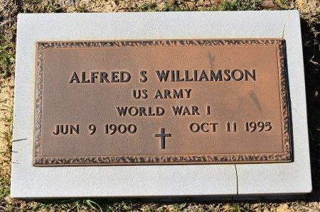 WILLIAMSON, ALFRED SAMUEL (VETERAN WWI) - Vernon County, Louisiana | ALFRED SAMUEL (VETERAN WWI) WILLIAMSON - Louisiana Gravestone Photos