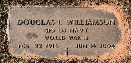 WILLIAMSON, DOUGLAS L (VETERAN WWII) - Vernon County, Louisiana | DOUGLAS L (VETERAN WWII) WILLIAMSON - Louisiana Gravestone Photos