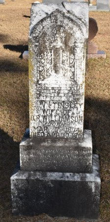 WILLIAMSON, E V - Vernon County, Louisiana | E V WILLIAMSON - Louisiana Gravestone Photos
