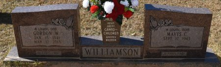 WILLIAMSON, GORDON WAYNE - Vernon County, Louisiana | GORDON WAYNE WILLIAMSON - Louisiana Gravestone Photos