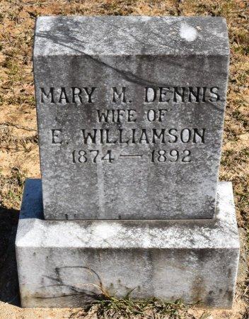 DENNIS WILLIAMSON, MARY M - Vernon County, Louisiana | MARY M DENNIS WILLIAMSON - Louisiana Gravestone Photos
