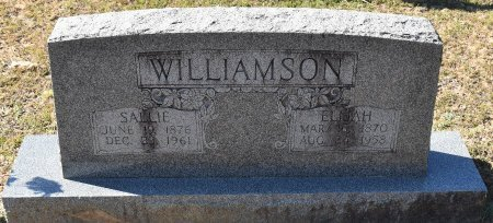 WILLIAMSON, SALLIE - Vernon County, Louisiana | SALLIE WILLIAMSON - Louisiana Gravestone Photos