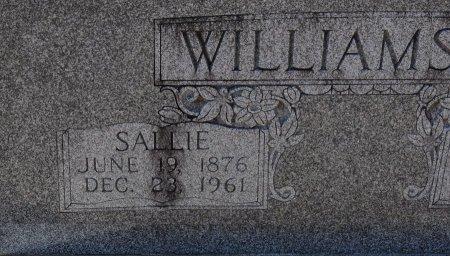 WILLIAMSON, SALLIE (CLOSE UP) - Vernon County, Louisiana   SALLIE (CLOSE UP) WILLIAMSON - Louisiana Gravestone Photos