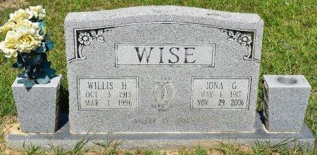 WISE, IONA G - Vernon County, Louisiana | IONA G WISE - Louisiana Gravestone Photos