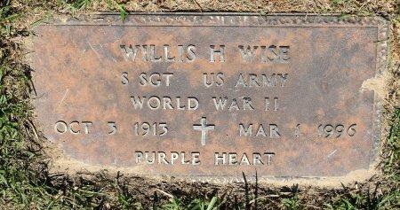 WISE, WILLIS H (VETERAN WWII) - Vernon County, Louisiana | WILLIS H (VETERAN WWII) WISE - Louisiana Gravestone Photos