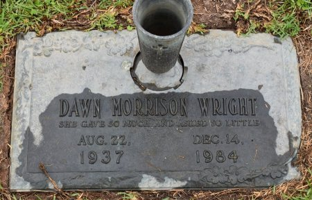 MORRISON WRIGHT, DAWN - Vernon County, Louisiana | DAWN MORRISON WRIGHT - Louisiana Gravestone Photos