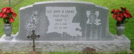 """ADAMS, JOHN HAROLD """"JOHNNY"""" - Washington County, Louisiana   JOHN HAROLD """"JOHNNY"""" ADAMS - Louisiana Gravestone Photos"""