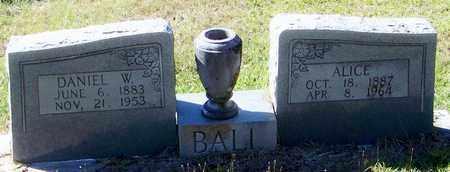 BALL, ALICE - Washington County, Louisiana   ALICE BALL - Louisiana Gravestone Photos