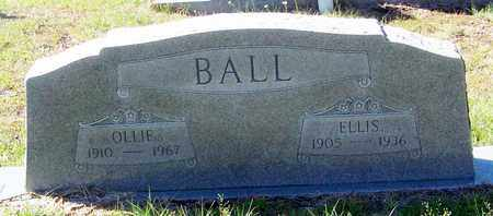 BALL, OLLIE - Washington County, Louisiana   OLLIE BALL - Louisiana Gravestone Photos