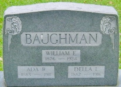LANG BAUGHMAN, DELLA F - Washington County, Louisiana | DELLA F LANG BAUGHMAN - Louisiana Gravestone Photos