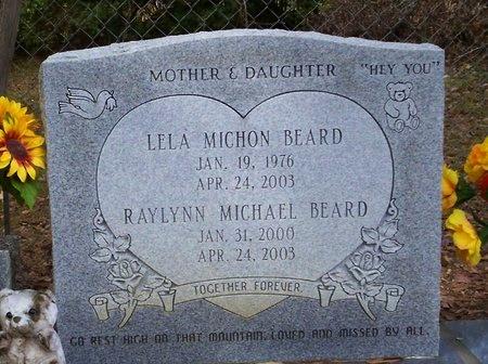 BEARD, LELA MICHON - Washington County, Louisiana | LELA MICHON BEARD - Louisiana Gravestone Photos