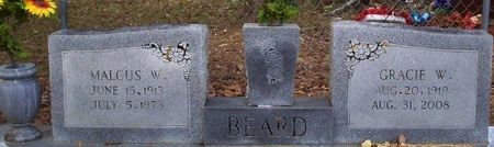 BEARD, GRACIE - Washington County, Louisiana | GRACIE BEARD - Louisiana Gravestone Photos