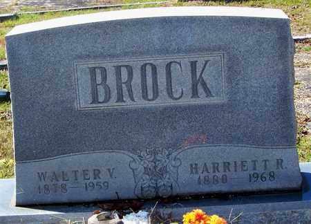 BROCK, WALTER VALENTINE - Washington County, Louisiana | WALTER VALENTINE BROCK - Louisiana Gravestone Photos