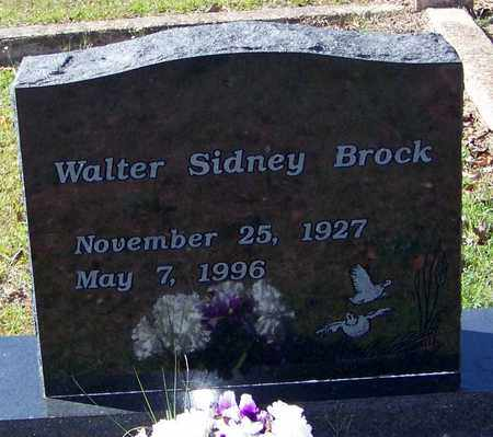 BROCK, WALTER SIDNEY - Washington County, Louisiana   WALTER SIDNEY BROCK - Louisiana Gravestone Photos
