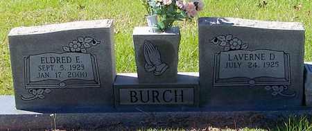 BURCH, ELDRED E - Washington County, Louisiana   ELDRED E BURCH - Louisiana Gravestone Photos