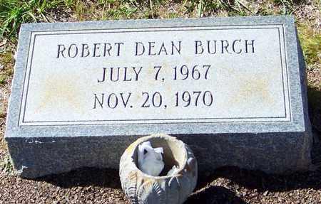 BURCH, ROBERT DEAN - Washington County, Louisiana   ROBERT DEAN BURCH - Louisiana Gravestone Photos