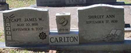 CARLTON, JAMES W, CAPTAIN - Washington County, Louisiana | JAMES W, CAPTAIN CARLTON - Louisiana Gravestone Photos