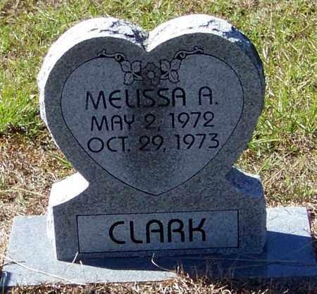 CLARK, MELISSA ARLENE - Washington County, Louisiana   MELISSA ARLENE CLARK - Louisiana Gravestone Photos